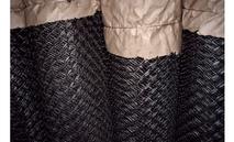 Сетка рабица (черная) 1,6мм. ячейка 40*40мм.(1,5м.*10м.)