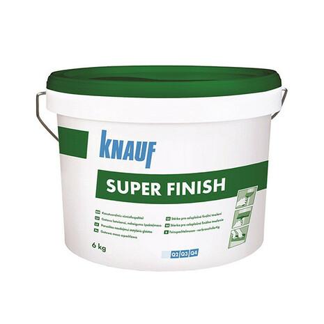 "Шпатлевка ""Knauf Super Finish"" 6 кг Белая."