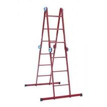 Лестница трансформер 3*4 (красная 2672)