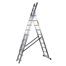 Лестница 3-х секционная DW-3 на 17 ступеней