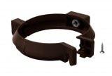 Кронштейн трубы стальной коричневый