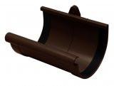 Муфта желоба 90 мм коричневая