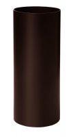 Труба водосточная L=3м коричневая