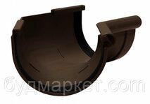 Угол желоба внутренний 135 град.коричневый 90 мм