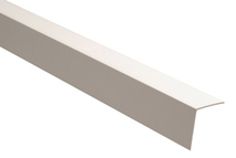 Уголок пластиковый белый 10мм.×10мм.×2.7м.