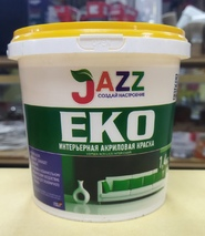 """Водоэмульсионная краска """"JAZZ"""" EKO"""