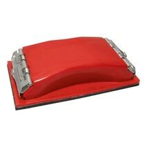 Брусок для шлифования, металлический зажим для быстрой и надежной фиксации INTERTOOL
