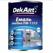 Эмаль ПФ-115 DekArt 0.9 кг