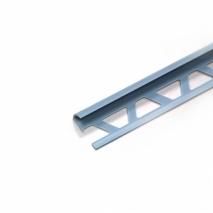 Уголок для кафельной плитки наружный № 9-10 (светло-голубой)