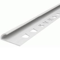 Уголок для кафельной плитки внутренний  № 8 2,5 м.(белый)