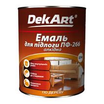 """Эмаль ПФ-266 """"DekArt"""" 0,9кг.(для окраски пола)"""