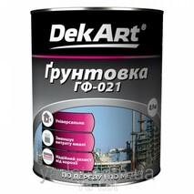 """Грунтовка ГФ-021 """"DekArt"""" 2,8 кг."""