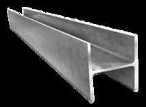 Алюминиевый двутавр (2860мм.*70мм.*50мм.*4мм.)