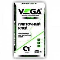 """Клей плиточный """"Vega""""norma для внутренних работ.25 кг."""