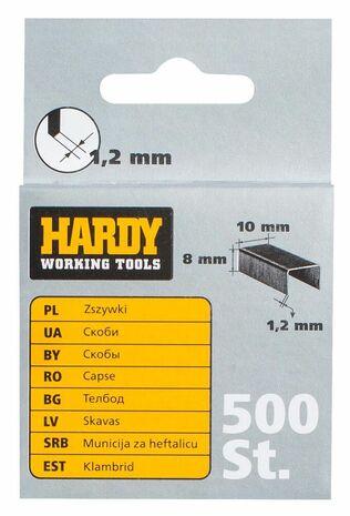 """Скобы для степлера """"HARDY"""" 1,2 ММ."""